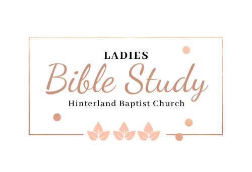 Ladies Bible Study- When God Doesn't Fix It