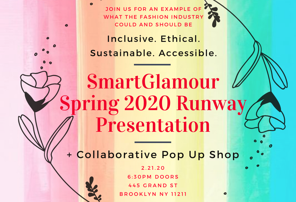 SmartGlamour Spring 2020 Runway Show and Collaborative Pop Up Shop
