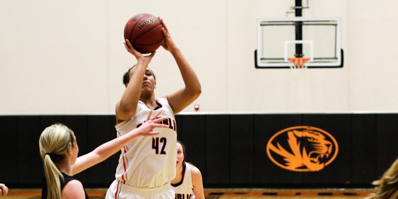 Tori Taylor scored 13 points for the Lady Tigers.
