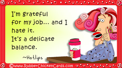 Funny Work Week Social Media Cards By Rubber Chicken Cards