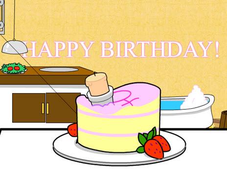 "Birthday For Her  ""Rube Goldberg"" - ""Sweet Chicken Cards"""
