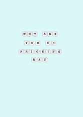 You're Rad