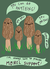 Morel Support Crew