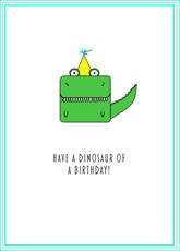 Little Dino Birthday