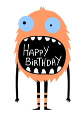 Happy Birthday Monster