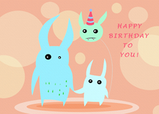Sweet Monster Birthday