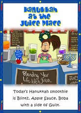 Hanukkah at the Juice Bar