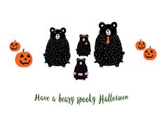 Beary Sppky Halloween