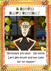 Hipster Birthday