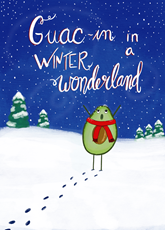 Guacin In A Winter Wonderland