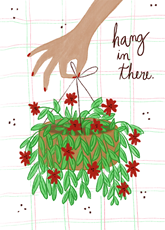 Hang In There Plant
