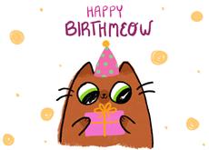 Happy Birthmeow