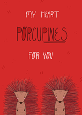 Porcupining Heart