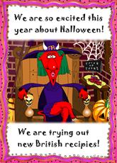 Devil's Halloween Dinner