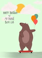 A Birthday Cub