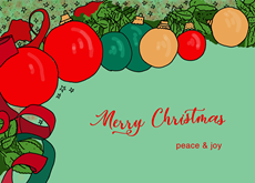 Peace and Joy on Christmas