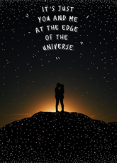 At the Edge of the Universe