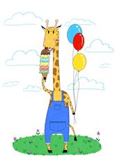 Giraffe's Special Day