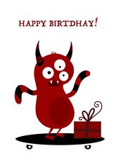 Red Monster Birthday