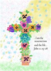 Cross of Flowers