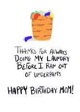 Laundry, Mom!