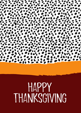 Abstract Thanksgiving