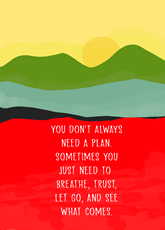Just Breath and Believe