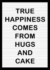 Hugs and Cake