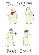 The Christmas Bear Boogie