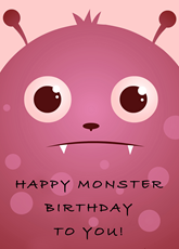 Happy Monster Birthday