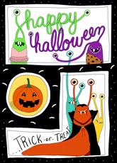 Halloween Slug Party
