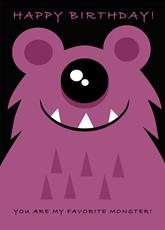 Favorite Monster