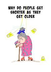People  Get Shorter