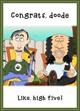 Congrats Doode