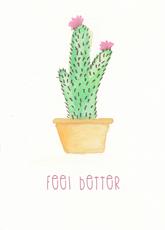Feel Better Cactus
