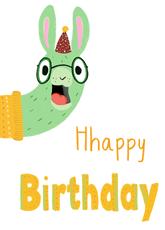 Hhappy Birthday Llama