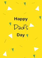 Dad's Day Confetti