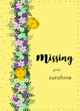 Missing Your Sunshine