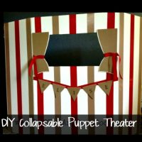 DIY Puppet Theater Tutorial by Ruffles and Rain Boots