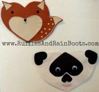 Quick Craft for Toddlers: Fox and Panda