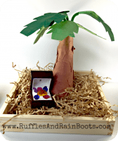 How to Make a Coconut Tree Craft