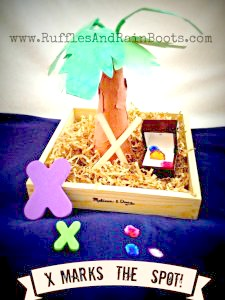 x marks the spot treasure hunt ideas for toddlers