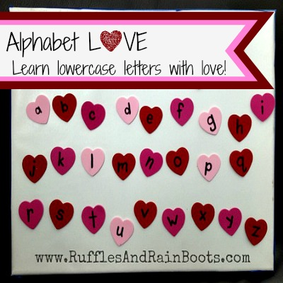 Alphabet Love – A Sticky Fun Way to Learn