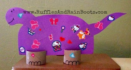 This is a picture of the awesome fun we are having at RufflesAndRainBoots.com