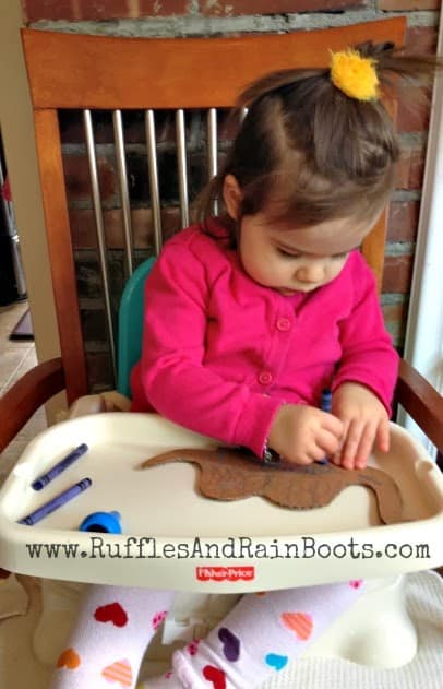 This is a picture of a great wood craft done at RufflesAndRainBoots.com.