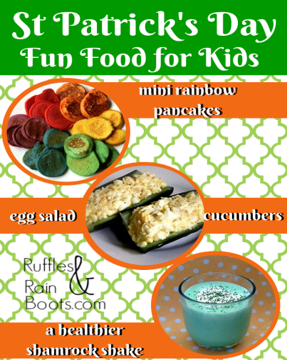 Fun St Patrick's Day Food – The Good, The Colorful, The Not-So-Minty