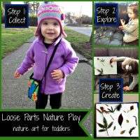 Nature Theme Learning and Loose Parts Play