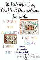 A Few {More} St. Patrick's Day Decorations and Crafts
