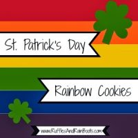 St Patrick's Day Sweets – Rainbows