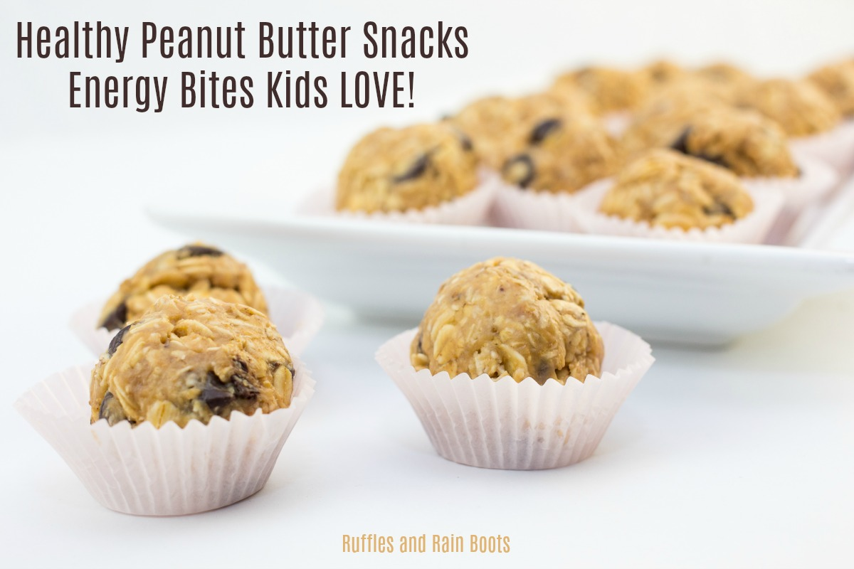 Peanut Butter Energy Bites Kids in the Kitchen